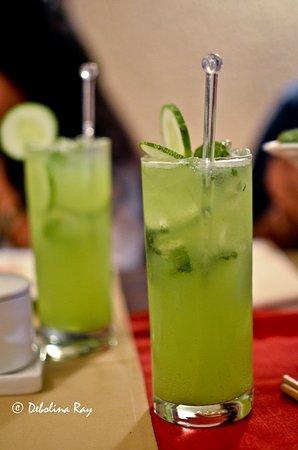 Hunan: Cucumber cooler