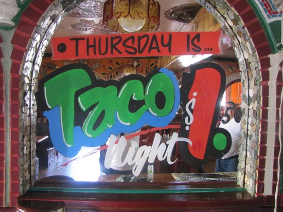 La Grande, OR: Thursday Is Taco Night: 3 Tacos for $ 4.50 plus Salsa & chips.