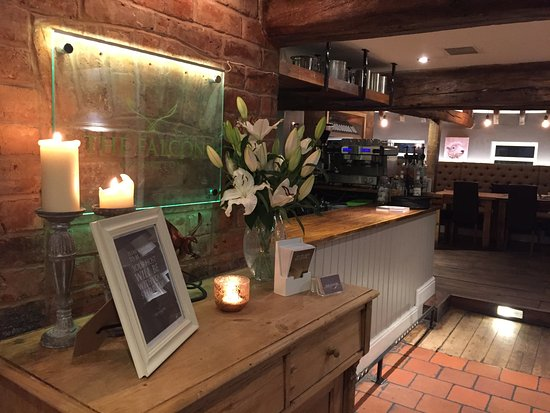 The Falcon At Hatton - Restaurant: Expect a warm welcome