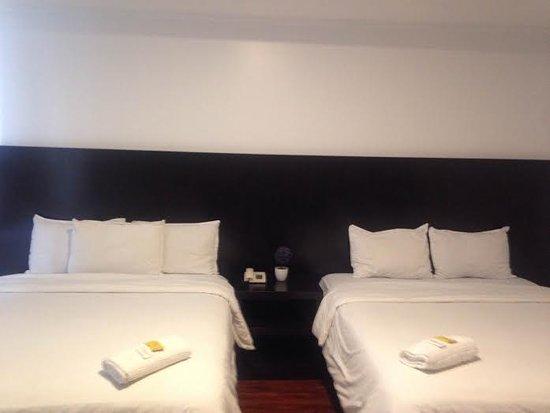 Hotel La Fontana: habitacion doble 2 camas