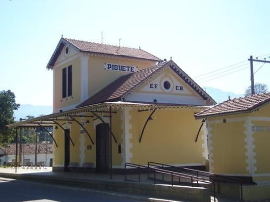 Piquete: Foto atual da Estação Rodrigues Alves
