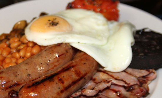 Newenden, UK: The best brekkie in the area (we like to think!) Local, fresh produce