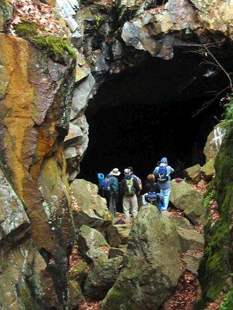 Bear Mountain, NY: Opening to Bradley Mine - Credits: Powermastery.com