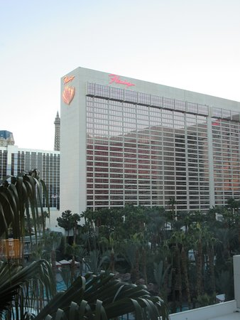 Hilton Grand Vacations at the Flamingo: HGV Flamingo's view from our room