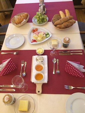 Penzion Obora: Výborná snídaně