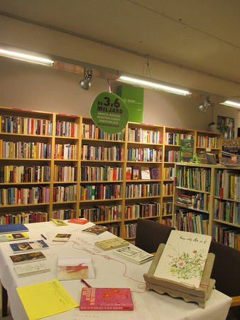 Pleasant second hand bookhop