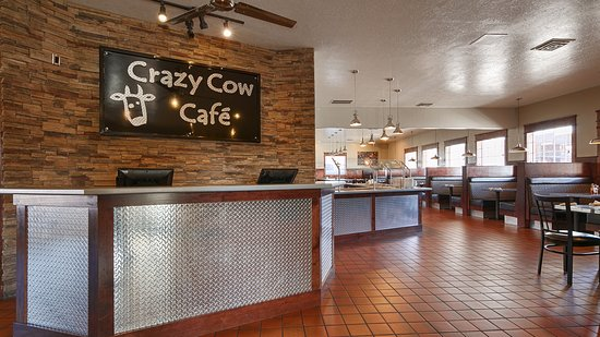 Best Western Paradise Inn: Crazy Cow Cafe