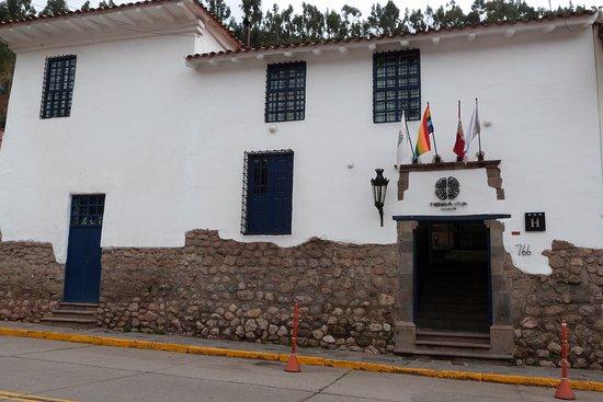 Tierra Viva Cusco Saphi: Fachada externa
