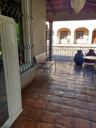 Bo Hotel de Encanto & Spa: terraza