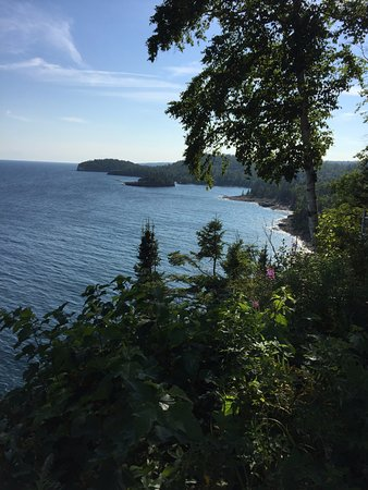 Two Harbors, MN: view