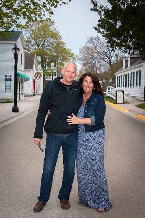 Cottage Inn of Mackinac Island: Innkeepers, David and Rose Witt