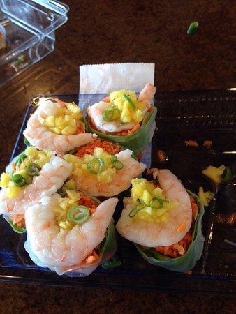 Princeton Junction, NJ: Shrimp sushi