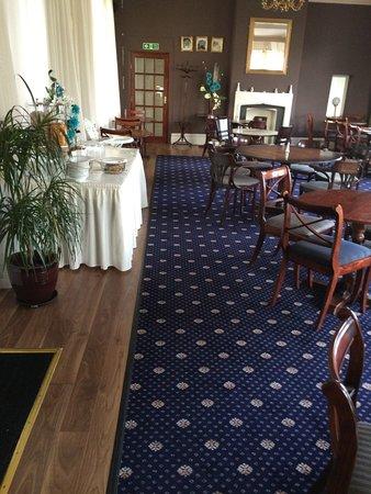 Royal hotel llangollen pays de galles voir les tarifs for Salle a manger wales