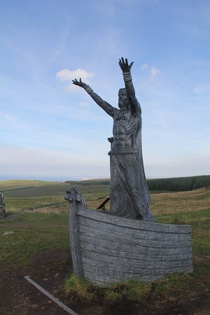 Manannán Mac Lir: Manannan Mac Lir, Celtic god of the Sea