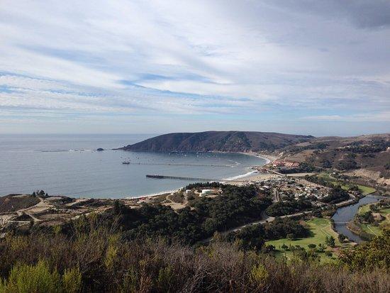 แอวิลาบีช, แคลิฟอร์เนีย: Overview of Avila Beach and paths leading to Harford Pier, Avila Valley Barn, Pismo and Shell Be