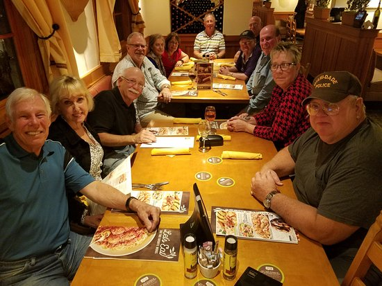 Sebring, FL: Thursday Night Dinner Before Our Golf Outing and Reunion on Friday