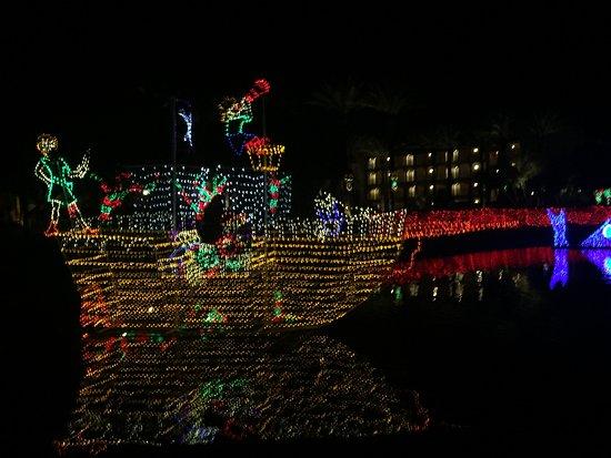 fairmont scottsdale princess christmas at the princess lights