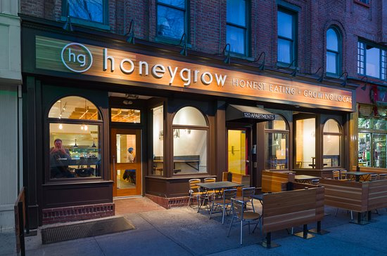 Honeygrow asian restaurant 120 washington st in for Asian cuisine hoboken nj