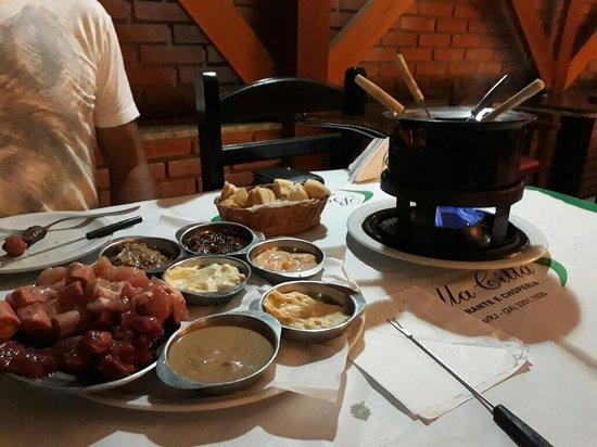 melhor rodizio de fondue em penedo