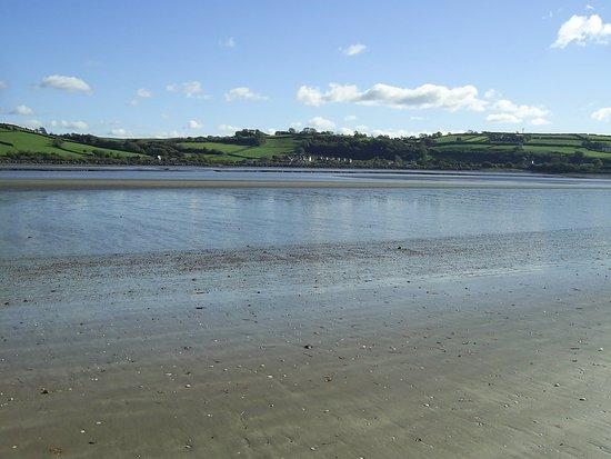 Llansteffan Beach looking towards Ferryside