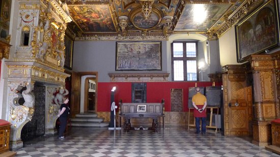 Gdansk History Museum (Muzeum Historyczne Gdanska): Town Hall, the Red Room, or the Great Council Chamber