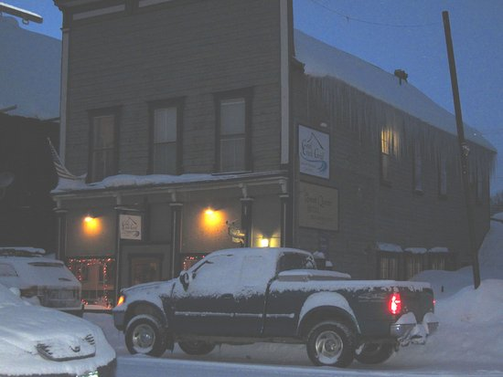 The Coal Creek Grill on a cold January day.