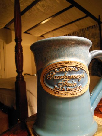 Scarborough Fair Bed & Breakfast: The mugs are a nice touch.