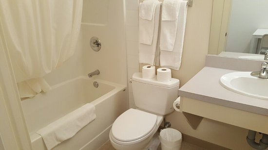 Wainwright, Kanada: Bathroom
