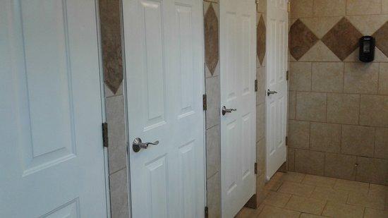 Craig, CO: Blick auf die Duschtüren