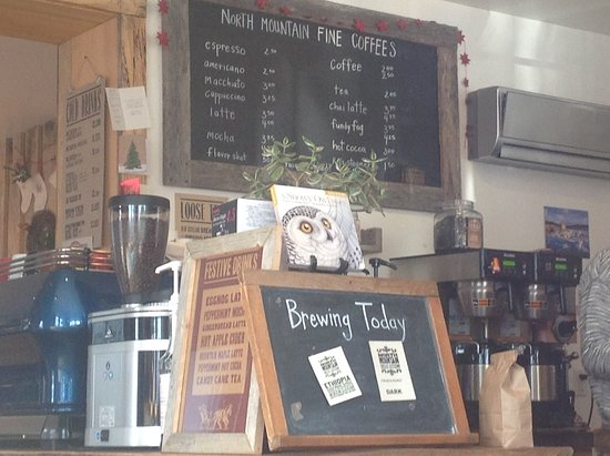 Berwick, Καναδάς: Great selection of teas, coffee and eats