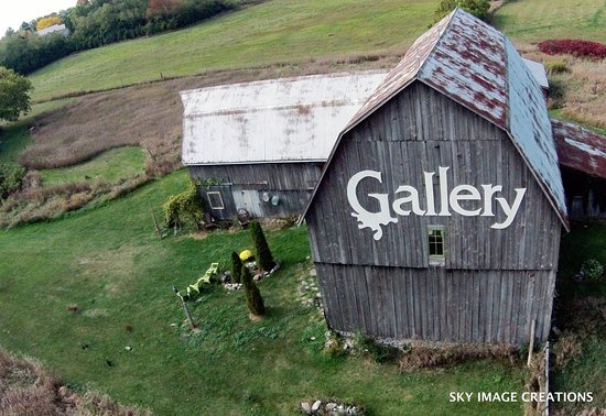 Andrew Csafordi Studio Gallery, Bloomfield, ON - Prince Edward County (Photo by Sky Image Creati