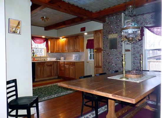 Interlaken, NY: 2nd house - guest kitchen