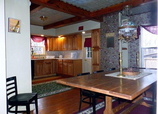 Interlaken, Estado de Nueva York: 2nd house - guest kitchen