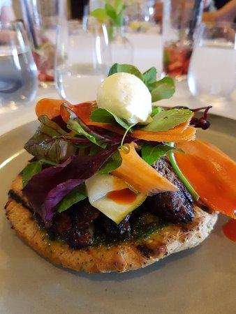 Grandchester, Austrália: Smoked beef pide
