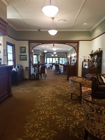 Grandchester, Austrália: Restaurant area