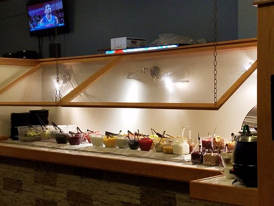Canton, NY: Salad Bar