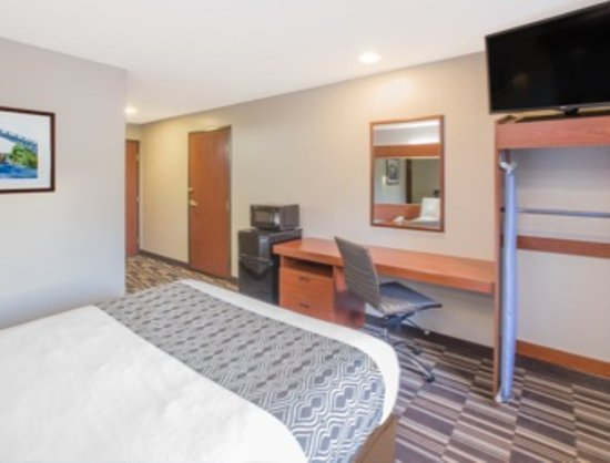 Microtel Inn & Suites by Wyndham Manistee: 1 Queen Handicap accessible