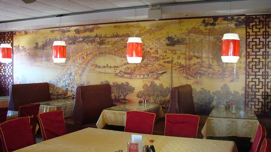 Olds, Canada: Nice and clean restaurant atmosphere