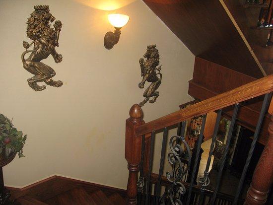 Harvard, IL: stairway