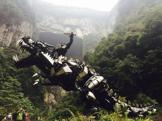 Wulong County, Chine : Transformer 4 demo