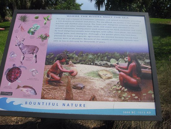Jupiter, FL: historical information sign
