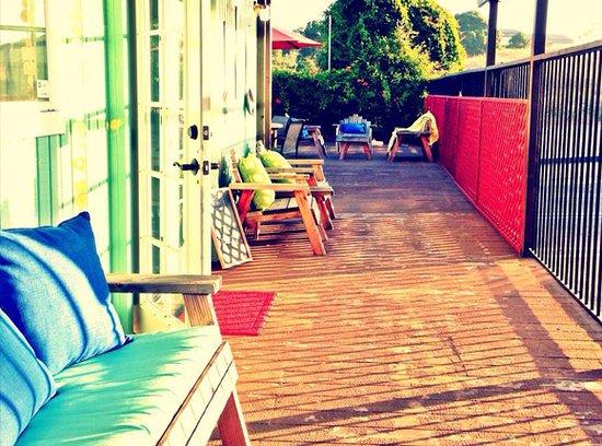 Grover Beach, كاليفورنيا: Outdoor patio