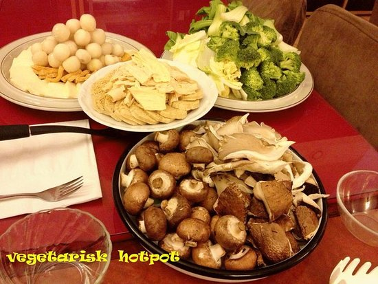 vegetarisk hot pot