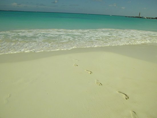 Grand Fiesta Americana Coral Beach Cancun: Beach is like pouder and so very soft!