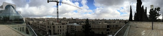 Beit Shmuel Guest House : panorama view from patio area on top of building