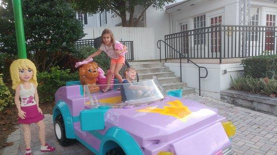 LEGOLAND Florida Resort: My niece and nephew with Lego friends