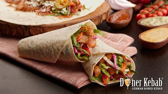 doner kebab sandwich veal マナマ german doner kebabの写真