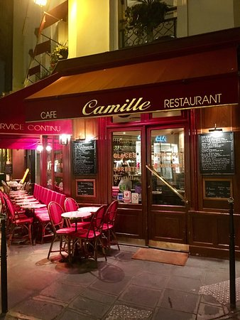 Photo of French Restaurant Camille at 24 Rue Des Francs Bourgeois, Paris 75003, France