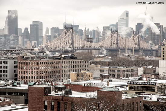 View Of Manhattan In The Winter Picture Of Boro Hotel Long Island