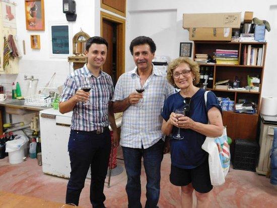 Archanes, Греция: Tasting of Sinadinakis Winery